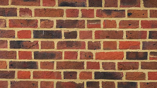 picture of flush pointing in lime mortar example
